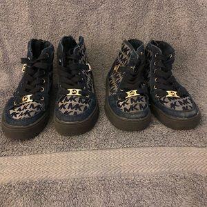 EUC Michael KOR Toddler Tennis Shoes 2 Pair